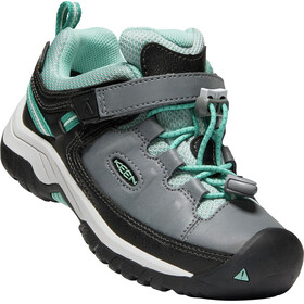 Keen Kids Targhee WP Low Shoes steel grey/wasabi
